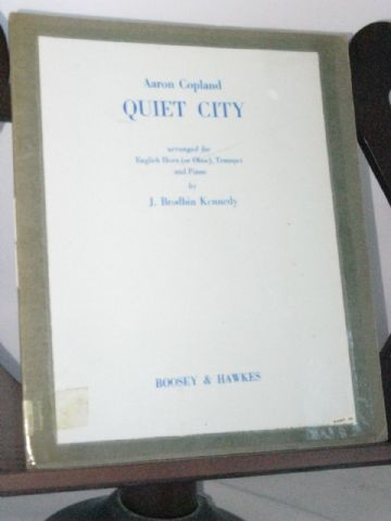 Copland A - Quiet City arr Kennedy J B